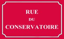 Rue du conservatoire